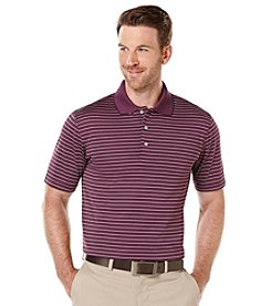 PGA TOUR® Men's Big & Tall Short Sleeve Airflux 3-Color Striped Polo