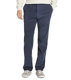 Izod® Men's Flat Front Corduroy Pants