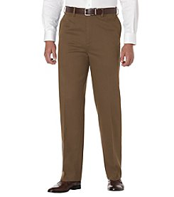 Savane® Men's Straight Fit Flat Front Performance Chino Pants