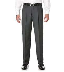 Savane® Men's Pleated Crosshatch Dress Pants