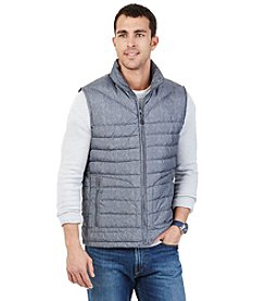 Nautica® Men's Herringbone Packable Vest