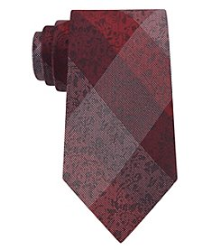 John Bartlett Statements Men's Vine Gingham Tie