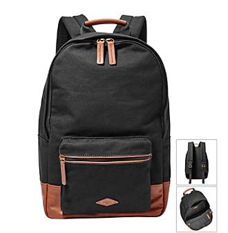 Fossil® Men's Estate Canvas Backpack