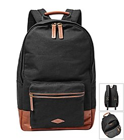 Fossil® Men's Estate Canvas Backpack