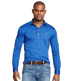 Polo Ralph Lauren® Men's Long Sleeve Pima Soft Touch Polo