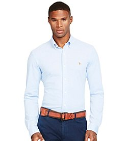 Polo Ralph Lauren® Men's Long Sleeve Knit Oxford Shirt