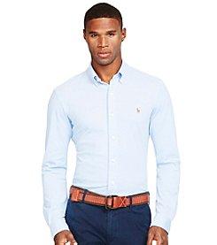 Polo Ralph Lauren® Men's Long Sleeve Knit Oxford Shirt