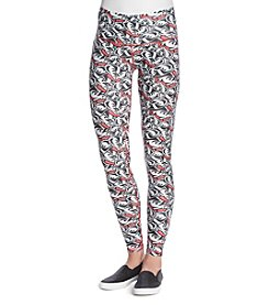 ZooZatZ™NCAA® Wisconsin Badgers Women's Printed Leggings