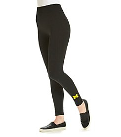 ZooZatZ™ NCAA® Michigan Wolverines Women's Fleece-Lined Leggings