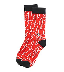 ZooZatZ™ NCAA® Nebraska Cornhuskers Women's Mascot Socks