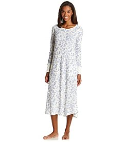 HUE® Long Sleeve Nightgown