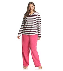 Intimate Essentials® Long Sleeve Pajama Set