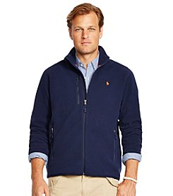 Polo Ralph Lauren® Men's Big & Tall Microfleece Track Jacket