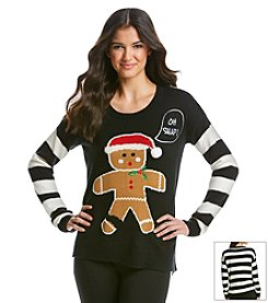 Love Always Gingerbread Man Sweater