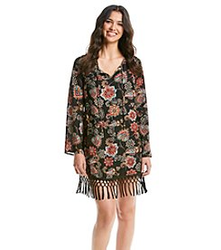 Be Bop Floral Shift Dress