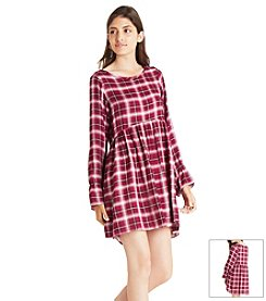 BCBGeneration™ Plaid Fit And Flare Dress