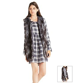 BCBGeneration™ Faux Fur Vest