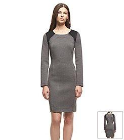 KIIND OF Scuba Midi Dress