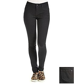 Boom Boom Black Jean Leggings