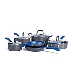 Bella 10-Pc. Hard Anodized Aluminum Cookware Set