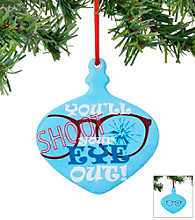 Department 56® Shoot Your Eye Out Ornament