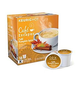 Keurig® Cafe Escapes Pumpkin Spice 16-pk. K-Cup
