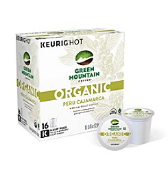 Keurig® Green Mountain Coffee® Organic Peru Cajamarca Medium Roast Coffee 16-Pk. K-Cup