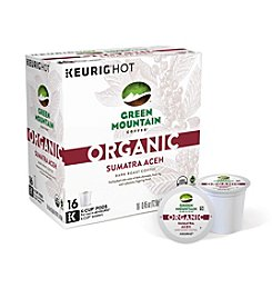 Keurig® Green Mountain Coffee® Organic Sumatra Aceh Dark Roast Coffee 16-pk. K-Cup