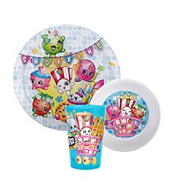 Zak Designs® Shopkins 3-Pc. Dinnerware Set