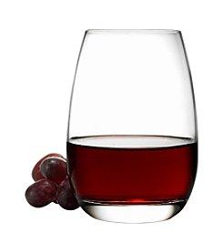 Luigi Bormioli Michelangelo Set Of 4 Stemless Wine Glasses