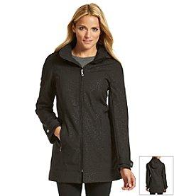 Calvin Klein  A-Line Zip Front Coat