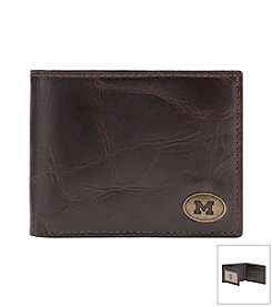 Jack Mason Men's University of Michigan Legacy Traveler Wallet