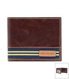 Jack Mason Men's University of Michigan Tailgate Traveler Wallet