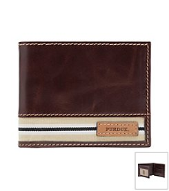 Jack Mason Men's Purdue University Tailgate Traveler Wallet