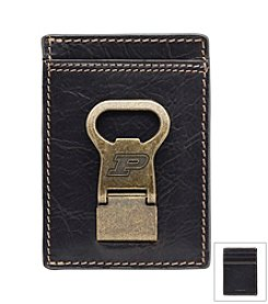 Jack Mason Men's Purdue University Gridiron Multi-card Wallet