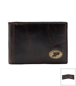 Jack Mason Men's Purdue University Legacy Flip Bifold Wallet