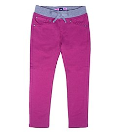 Lee® Girls' 2T-6X Sparkle Pull On Knit Skinny Jeans