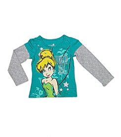Disney® Girls' 4-6X Tinkerbell® Layered Top