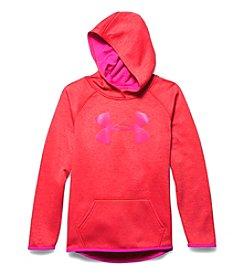 Under Armour® Girls' 7-16 Fleece Printed Big Logo Hoodie