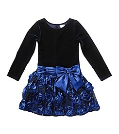 Sweet Heart Rose® Girls' 2T-6X Soutache Dress