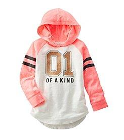 OshKosh B'Gosh® Girls' 2T-6X One Of A Kind Sparkle Varsity Tunic
