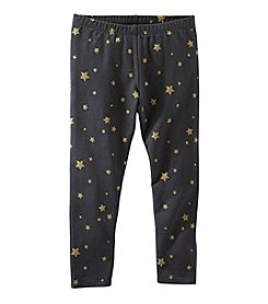OshKosh B'Gosh® Girls' 4-6X Sparkle Star Leggings