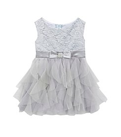 Rare Editions® Girls' 2T-6X Floral Cascade Dress