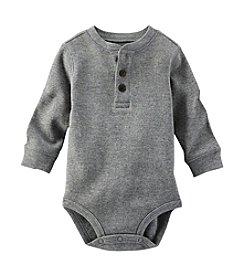 OshKosh B'Gosh® Baby Boys' 6-24M Thermal Henley Bodysuit
