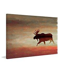 Moosehead Art Print on Premium Canvas