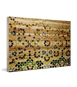 Tangier Art Print on Natural Pine Wood