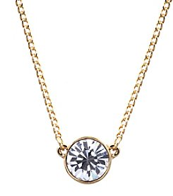 Givenchy® Goldtone Pendant Necklace