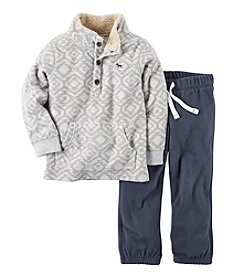 Carter's Girls' 2T-4T 2-Piece Fair Isle Pullover And Pants Set