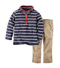 Carter's Boys' 2T-4T 2-Piece Microfleece Pullover & Pants Set