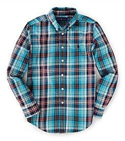 Ralph Lauren Childrenswear Boys' 8-20 Long Sleeve Blake Top